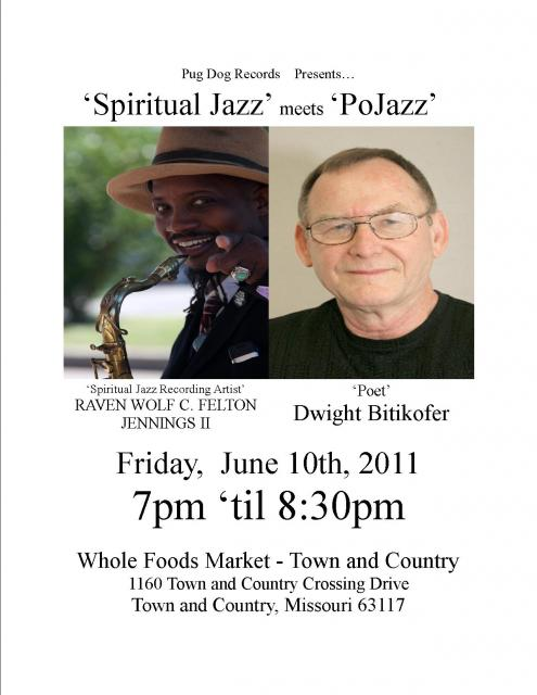 """Spiritual Jazz"" meets ""PoJazz""  'live' at the Stone Spirial Coffee & Curios in Maplewood, Missouri"